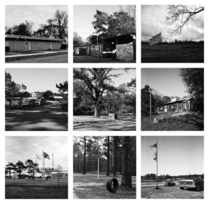 Baxterville, Mississippi, 52cm x 52 cm each, grid of 9 images, Hand Printed Gelatine Silver Print of Fiber based paper. Edition of 6 + 1 A.P + 1 E.C. 2017
